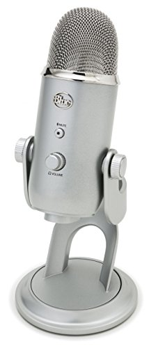 Blue Yeti USB Microphone - Silver by Blue