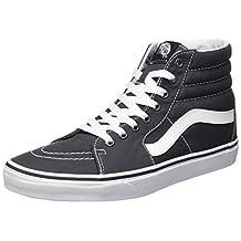 Vans Unisex Sk8-Hi (Canvas) Asphalt Skate Shoe 10.5 Men US / 12 Women US
