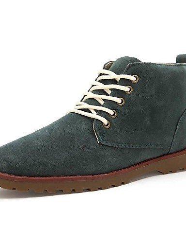 Ei&iLI Zapatos de Hombre - Sneakers a la Moda - Casual - Semicuero - Negro / Amarillo , black , us8 / eu40 / uk7 / cn41 Black