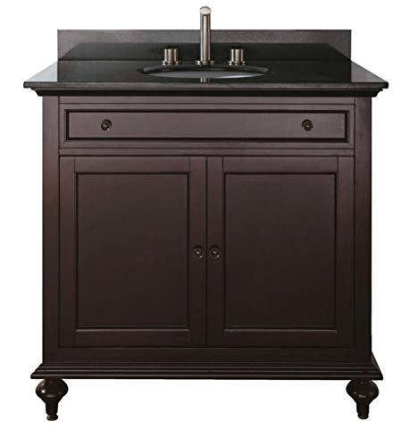 "36"" Bathroom Vanity Cabinet Assembled"