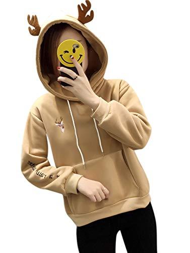 (Cosplay Ladies Anime Hoody Hoodie Ears Costume Raccoon Teddy Panda Emo Bear T Shirt Top Shirt)