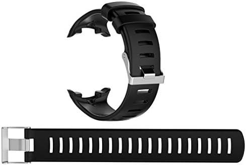 BUTEFO SUUNTO(スント)交換用ストラップ SUUNTO D4 D4i NOVO バンド交換 ウォッチアクセサリー バンドストラップ 腕時計ベルト 交換リストバンド ダイビングウォッチの交換用シリコンストラップ