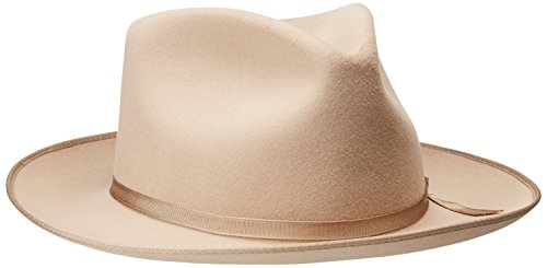 - Stetson Men's Stratoliner Roayl Quality Fur Felt Hat, Silver Belly, 7.25
