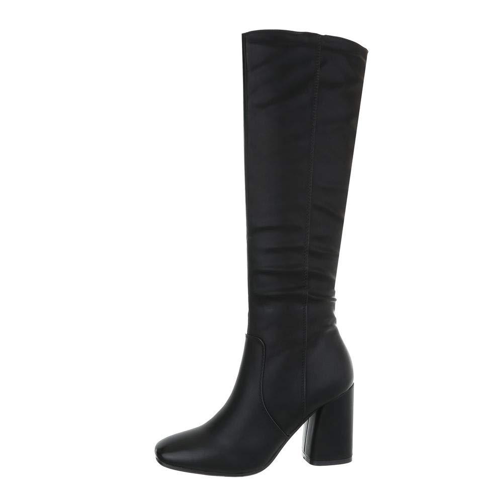 Damen Schuhe Stiefel High Heels Heels Heels Langschaft Stiletto Stiefel EUR 36-EUR 41 b9eef7
