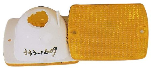 Depo 333-1609N-USD Jeep Wrangler Driver/Passenger Side Replacement Parking/Signal Light Unit without Bulb