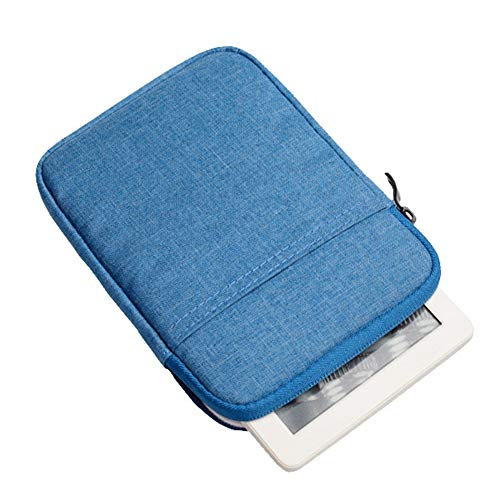 Blue Kindle for Paperwhite Generation Cover Rose Voyage Amazon for Oasis Kindle Pouch 6 Bag E Paperwhite Reader 2016 Kindle Sleeve Kindle Voyage 8th Nylon inch Kindle tP8q46Aw