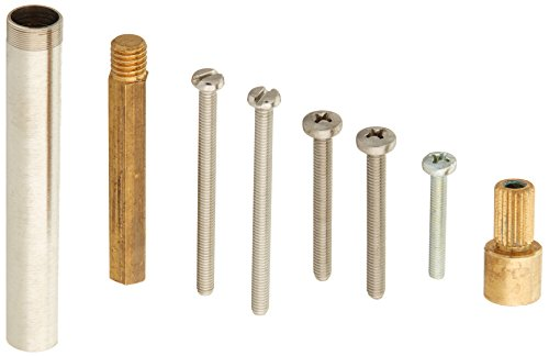 Rohl 1207KITSTN Kit 1/2'' Handle Extension Kit for Pressure Balance Rmv-2 and Ref-2 Includes 3603-1207 3104-0789 & 1404-0961, Satin Nickel by Rohl