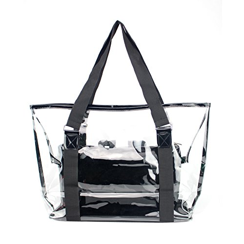 handbags Widewing crystal package jelly luggage outdoor women credit Black tourism R4H45vFqZ