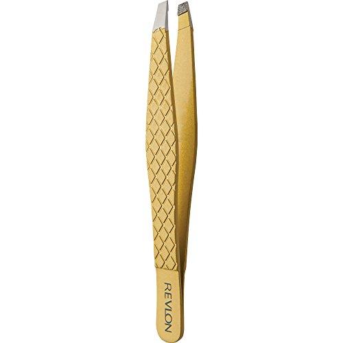 - Revlon Gold Series Tweezers, Slant Tip
