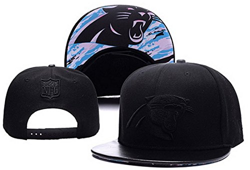 Carolina Panthers Snapback Cap Mens Baseball Snapback Hats Grey 7 One Size