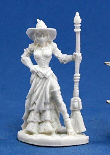 Reaper DITA, Steampunk Witch (1) Miniature 3