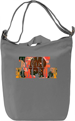 Tame Impala Borsa Giornaliera Canvas Canvas Day Bag| 100% Premium Cotton Canvas| DTG Printing|