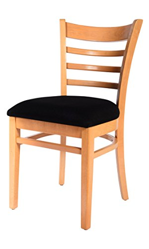Beechwood Mountain BSD-5S-N Solid Beech Wood Side Chairs in Natrual for Kitchen and dining, set of - Chair Beechwood