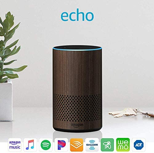 Echo (second Generation) - Smart speaker with Alexa and Dolby processing - Limited Edition Walnut Finish