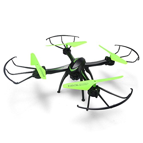 HP95(TM) JJRC H98WH RC Quadcopter WIFI FPV 2.4Ghz 4CH 6-axis Drone HD Camera Black by HP95