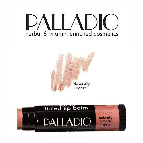 2 Pack Palladio Beauty Tinted Lip Balm 06 Naturally Bronze