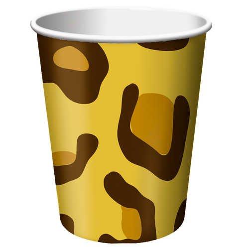 Creative Converting Animal Leopard Beverage