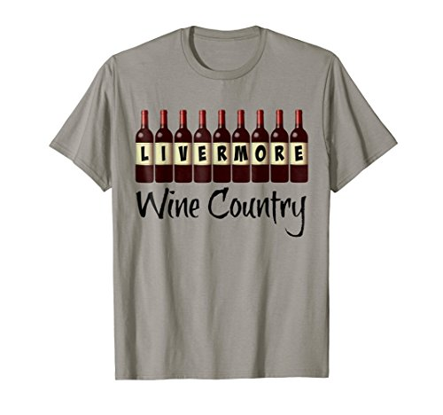 Livermore Wine Country Wine Bottles T-Shirt