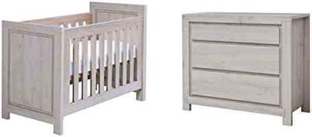 Cuna 60 x 120 y cómoda cambiador TWF – San Diego – madera: Amazon.es: Bebé