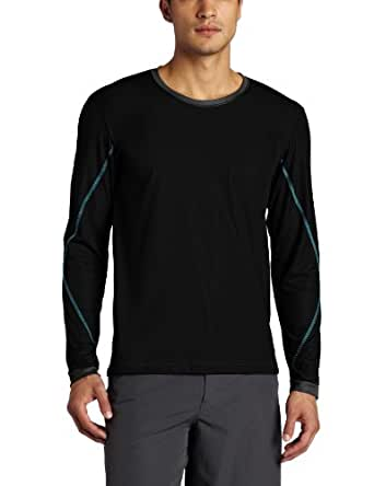 Zumba Fitness Men's Logo Long Sleeve Shirt, Black, X-Large