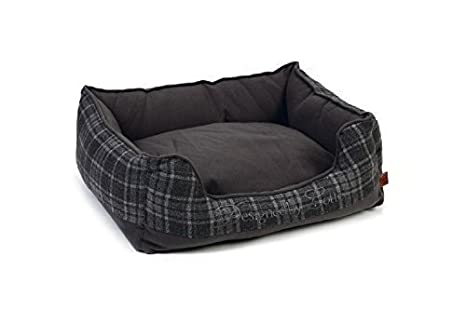 XXL cama cama para perros mascotas perros sofá plástico 95x 80x 25cm gris Premium Calidad.: Amazon.es: Productos para mascotas