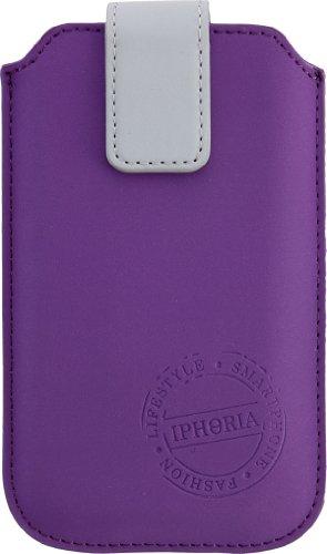 Iphoria 13471 Fun Trend Case für große Smartphone wie HTC Sensation XL Größe XXL lila