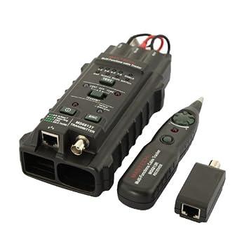 DBPOWER MS6813 multifunción-red Tester Red-Cable de Teléfono probador de cables Detector Tracker Wire Tracker RJ45 RJ11 Albrecht, con batería de litio: ...