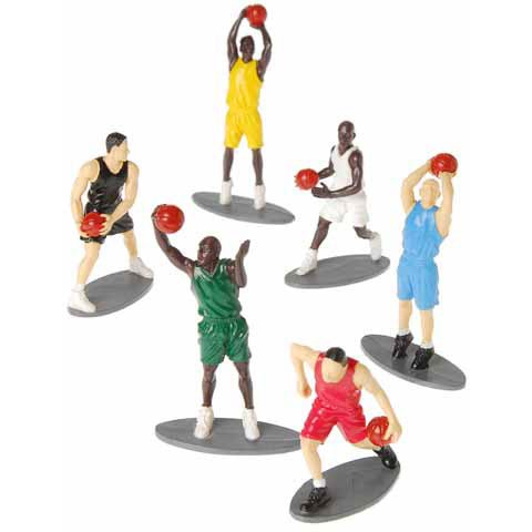 Basketball Figures by U.S. Toy