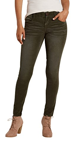 Maurices Women's Skinny It Fit Corduroy Pants In Forest Fern 13/14 Forest - Classic Skinny Corduroy