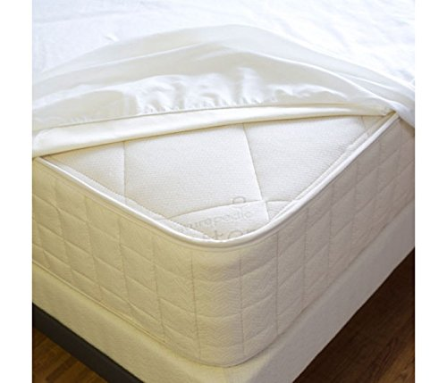 Deluxe Twin Mattress with Waterproof Fitted Mattress Pad (Mattress 360 Coils)