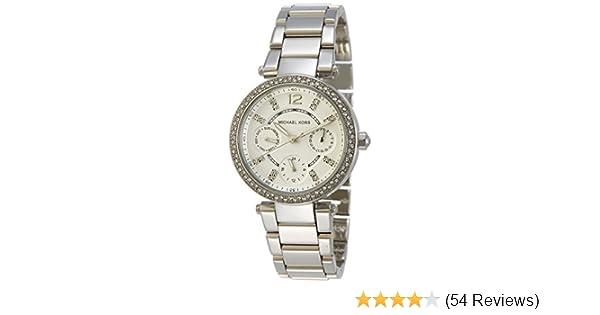c52eeffd2b7c Amazon.com  Michael Kors Women s MK5615 Parker Silver Watch  Michael Kors   Watches