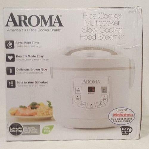 Aroma Rice Cooker Multi Cooker Food Steamer Slow Cooker ARC-936D