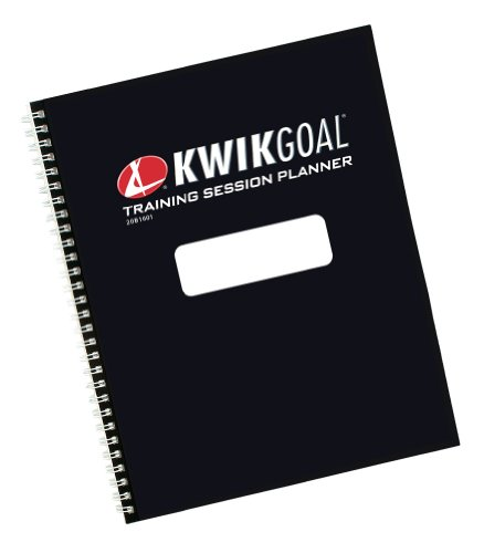 Kwik Goal Training Session Planner, Black (Soccer Goal Post Size)
