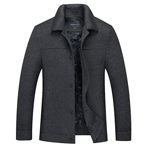Laisla Coat Stagione Derbe Giacca Trench Nero Slim Mezza E Classiche Da Fit Parka Fashion Uomo Ragazzi Blazer Autunno Inverno Warm rwqr1TC