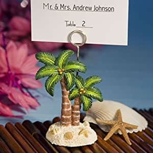 Ocean Breezes Collection Palm Tree Place Card Holders, 60