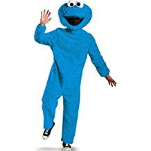 Prestige Full Plush Cookie Monster Costume - X-Large - Chest Size 42-46