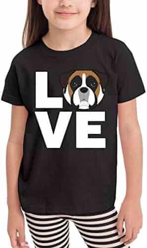 Vy91Lk-8 Short-Sleeve Pitbull Pride Shirts for Children 2-6T Ruffled Tunic Shirt Dress
