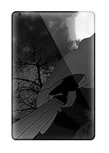 [alIQVYu7689mrraQ]premium Phone Case For Ipad Mini/mini 2/ Sasuke Black And White Naruto Anime Naruto Tpu Case Cover