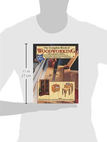 The Complete Book of Woodworking: Step-by-Step Guide to Essential Woodworking Skills, Techniques and Tips (Landauer) More Than 40 Projects with Detailed, Easy-to-Follow Plans and Over 200 Photos by Design Originals (Image #9)