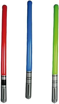 Gonflable lumière Saber épée Laser Costume Party Fun Kids adultes New rouge: Amazon.es: Hogar