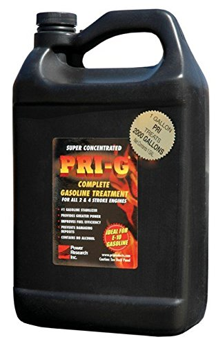 Power Research PRI-G 1 Gallon Gasoline Treatment For E-10 and All Gasoline Grades , Case of 6