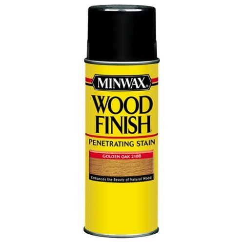 - Minwax 32350000 Wood Finish Penetrates, Stains & Seals Aerosol Spray, 11.5 ounce, Cherry