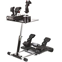 Wheel Stand Pro for Thrustmaster HOTAS WARTHOG™ and Saitek X-55, X52/Pro - Deluxe V2. Wheelstand Only. Flight Stick/Rudders Not included.