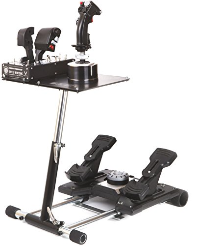 Warthog Wheel Stand Pro for Thrustmaster HOTAS WARTHOG, Saitek X -55/56, X52/X52Pro, Pro Flight Rudders and MGF Crosswind - Deluxe V2. Wheelstand Only. Flight Stick/Rudders Not included.