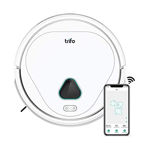 Trifo Max Robot Vacuum Cleaner, with AI Powered Home Surveillance, Video Recording, Mobile App Control, Alexa-Enabled
