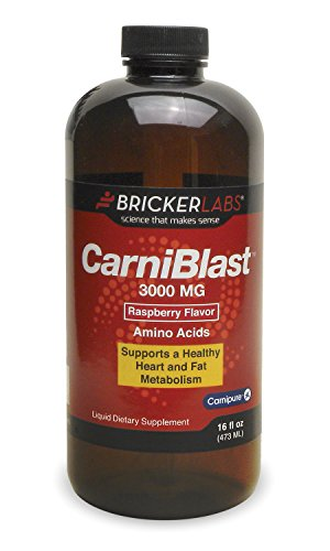 CarniBlast Carnipure L-Carnitine 3000mg - The Best-Tasting Liquid Form of L-carnitine on The Market - Natural Energy for a Healthy and Active Lifestyle as The Optimal Role in Energy Production