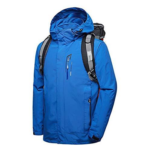 Traje Montaña Azul1 Con Libre Abrigo Chaquetas De Mujer Moodn Aire Capucha Pareja Cortavientos Skate Tops Al Hombre Impermeable Cazadora Anorak Dos Acolchada Ropa Piezas Invierno 6Sqtpv