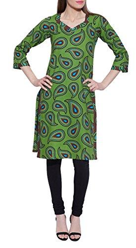 ShalinIndia-Dresses-For-Women-Printed-Long-Kurta-Cotton