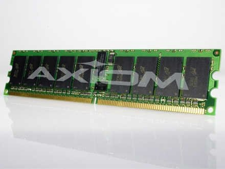 4GB DDR2-400 ECC RDIMM KIT (2 X 2GB) - AX11690699/2 (Rackmount Kit D2)