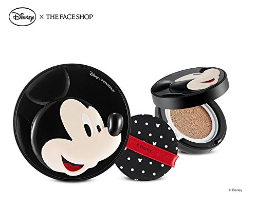 The Face Shop Disney CC Cooling Cushion (OEM) Micky (V203 Natural Beige)